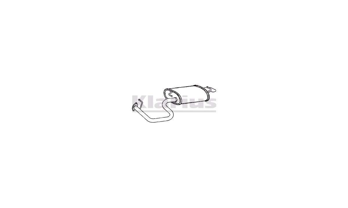 bakre lydpotte - (Fenno)