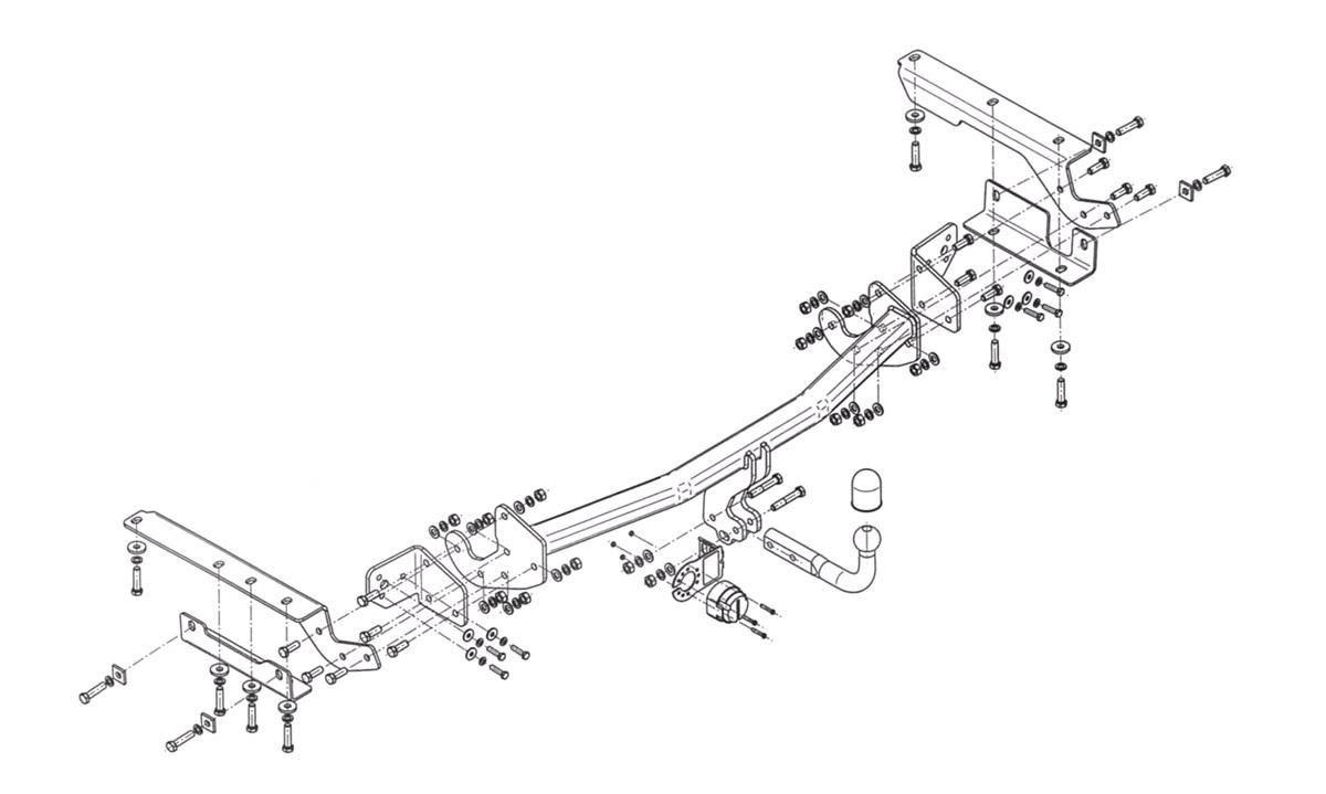 Trekkrok RAV4 2,0+2,2D4-D 12/12-