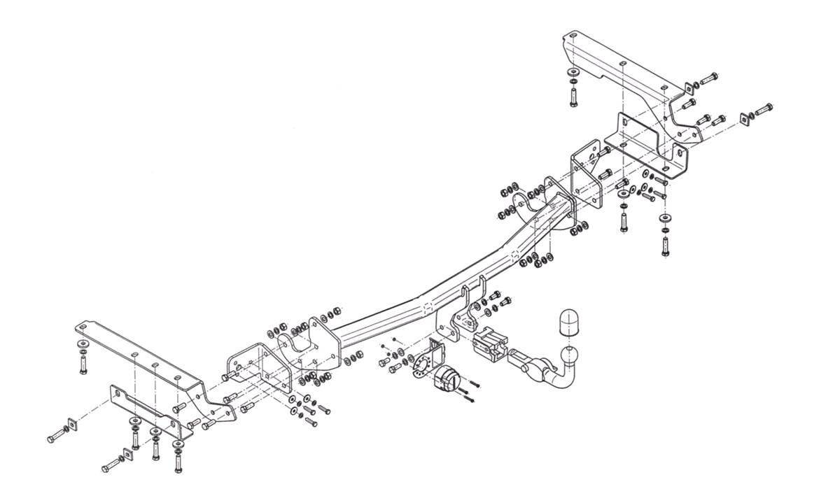 Trekkrok RAV4 2,0+2,4D4-D 12/12-