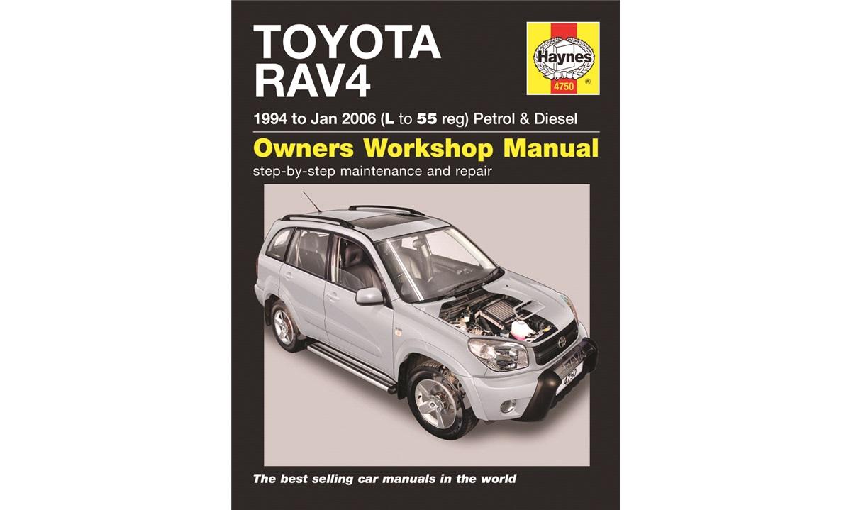 Reparasjonshåndbok RAV4 I+II 1/94-
