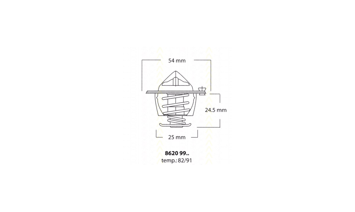 Termostat - (OE Replacement Parts)