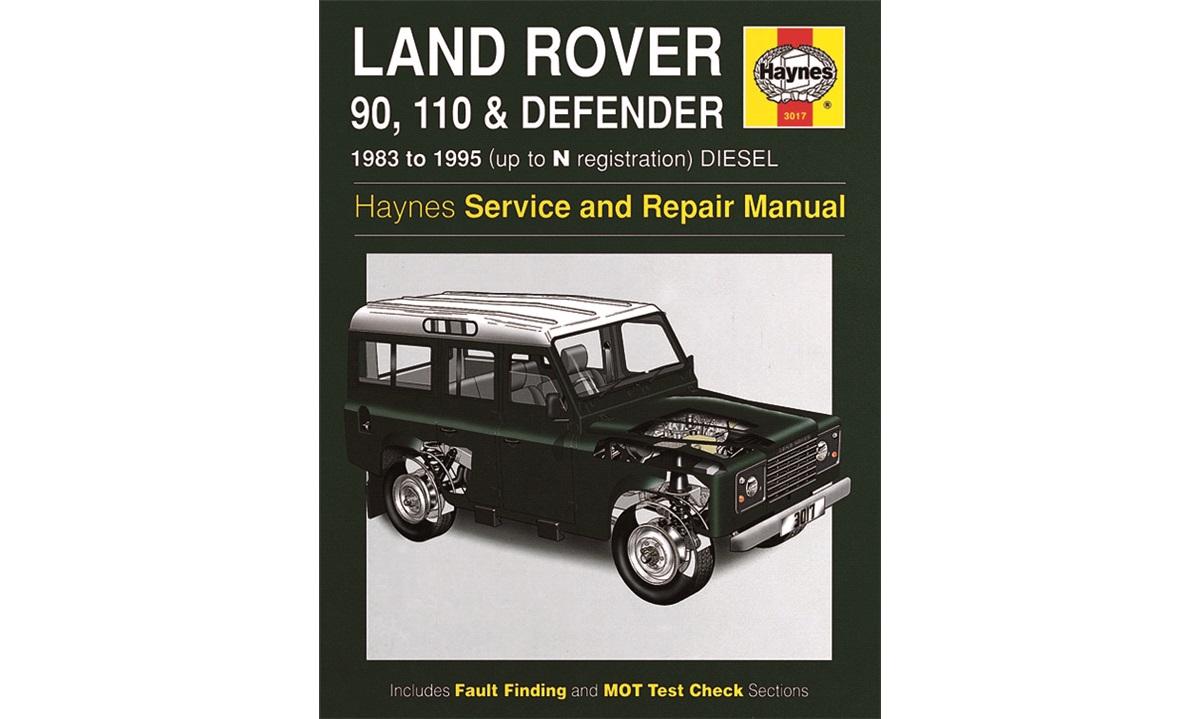 Reparasjonshåndbok Defender 83-95