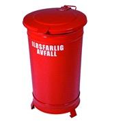 Beholder ildsfarlig avfall