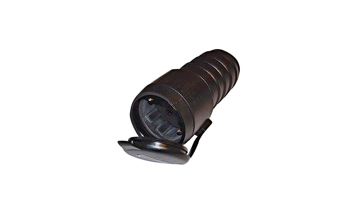 Kontakt 230 volt m/lokk og jord