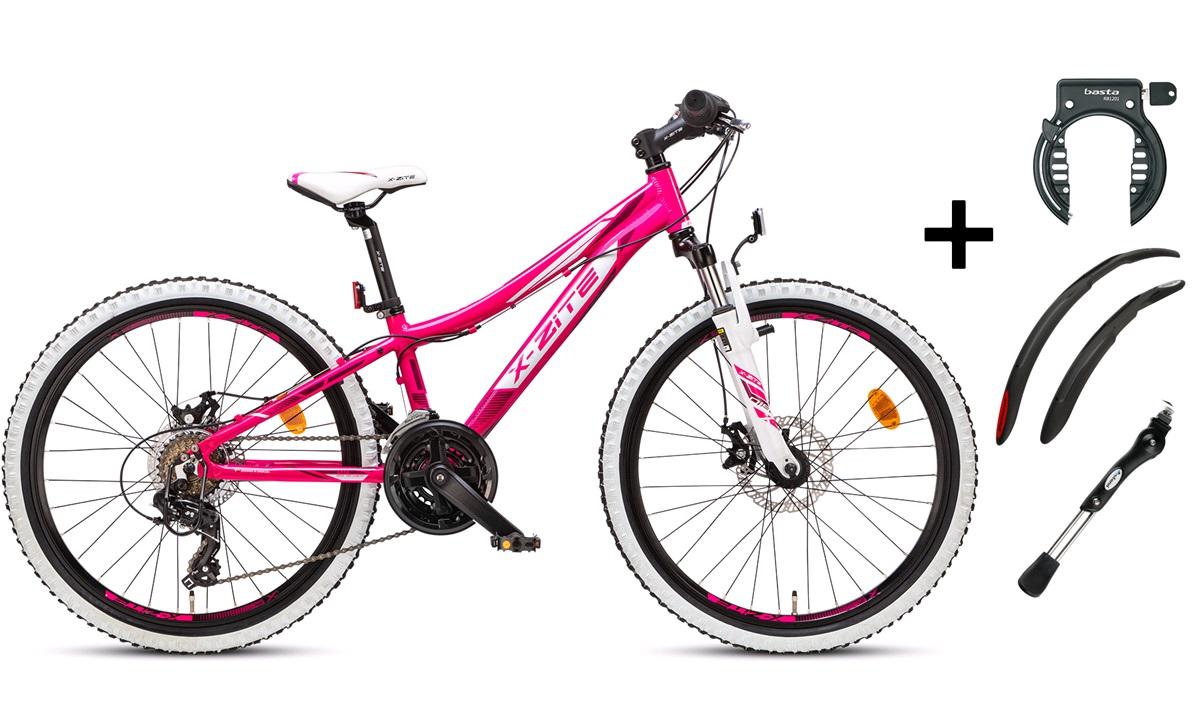 "Mountainbike 24"" 24.21 PIGE PAKKEPRIS"