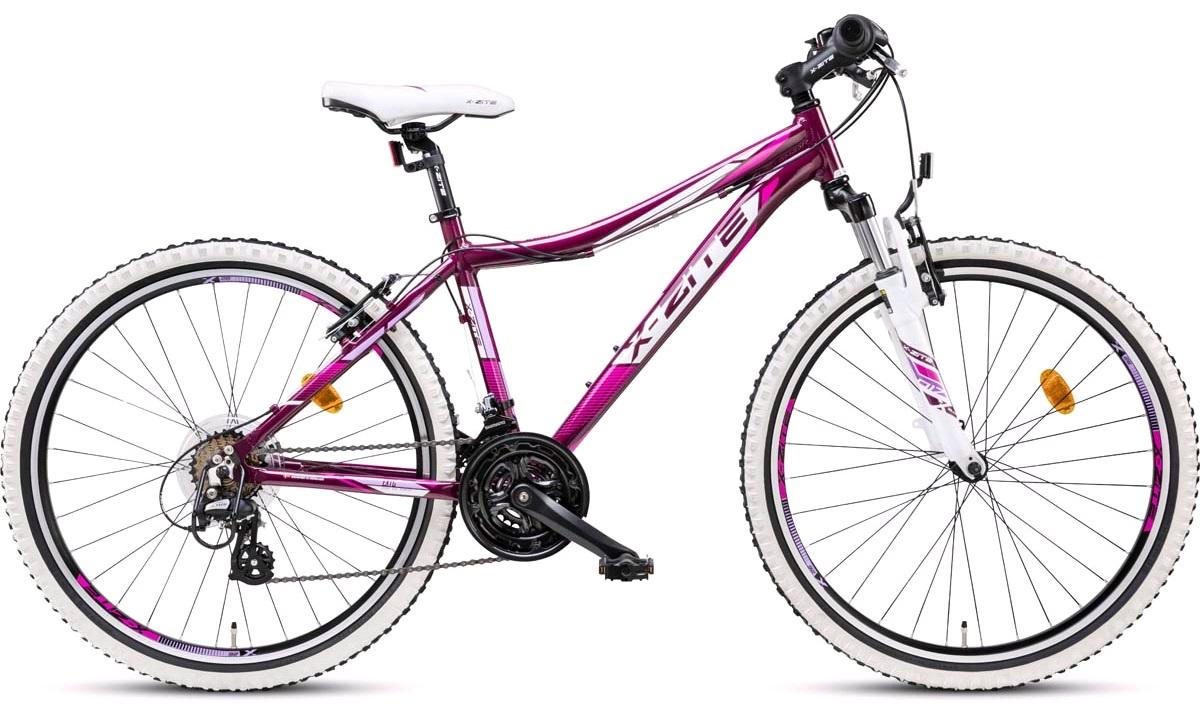 "Mountainbike 26"" 26.21 21 gear rosa/lilla 42cm"