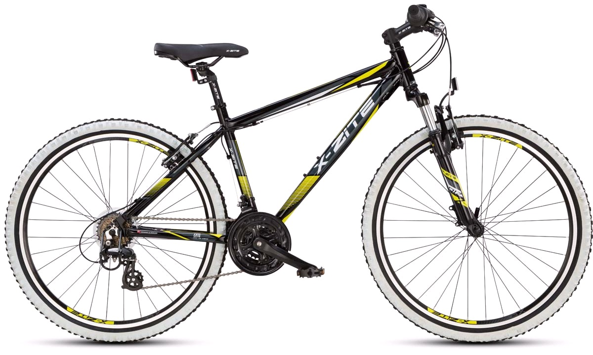 "Mountainbike 26"" 26.21 21-gear sort/gul 42cm."