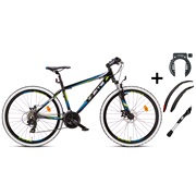 "Mountainbike 26"" 26.21 sort PAKKETILBUD"
