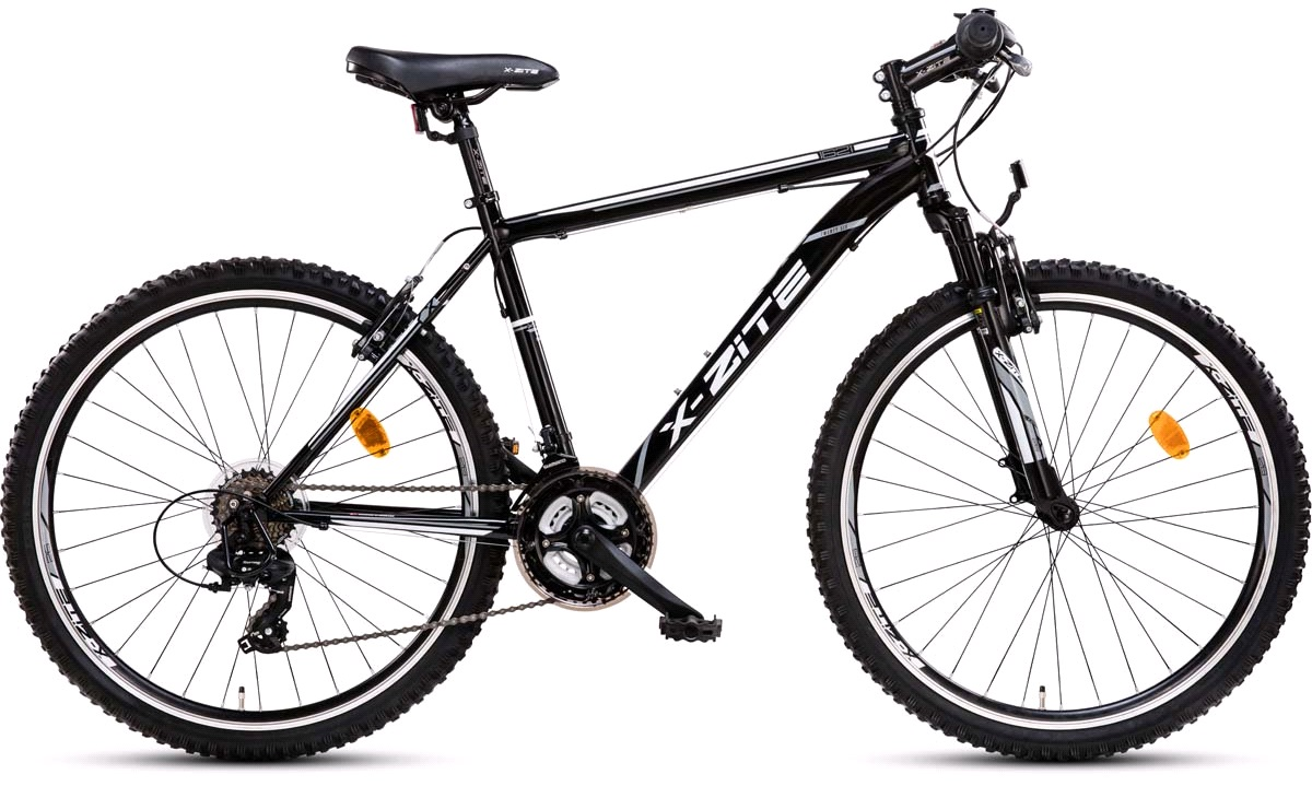 "Mountainbike 26"" 1621 21-gear sort 46cm"