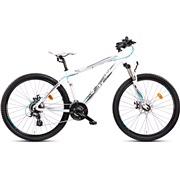 """Mountainbike 2724 27,5"""" 24-g 44cm hvid"""