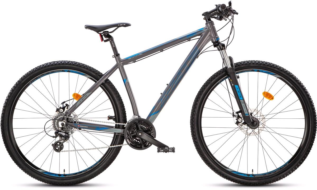 """Mountainbike 2924 29"""" 24-g grå/blå 48cm"""