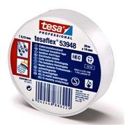 Tesa Elektrotape Hvit 19mm