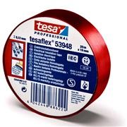 Tesa Elektrotape Rød 19mm