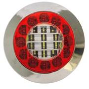 Baklykt LED rød/hvit