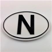 N-Skilt Emblem Liten