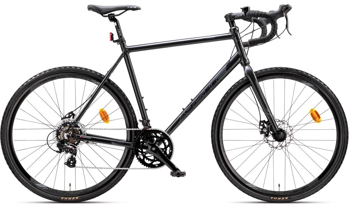 "Cross cykel 28"" 14 gear 57 cm matsort"