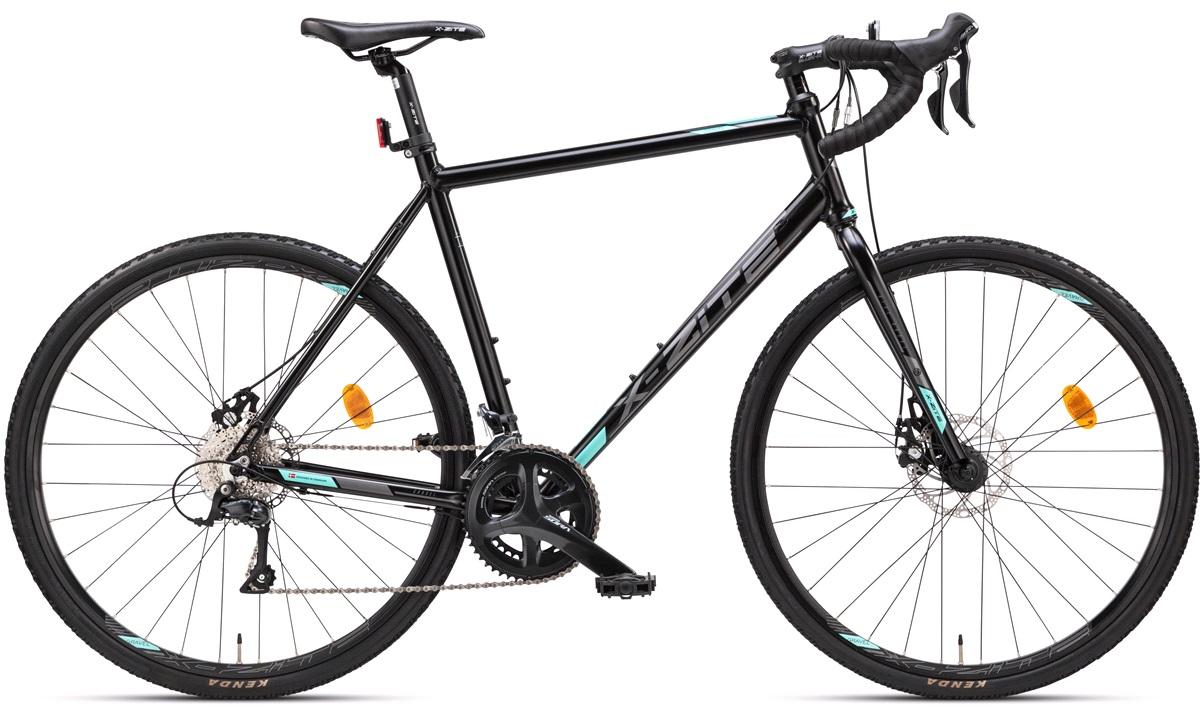 Gravel bike 18-speed Sora sort 53 cm