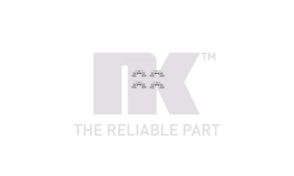 Monteringssæt til bremseklodser - (NK)