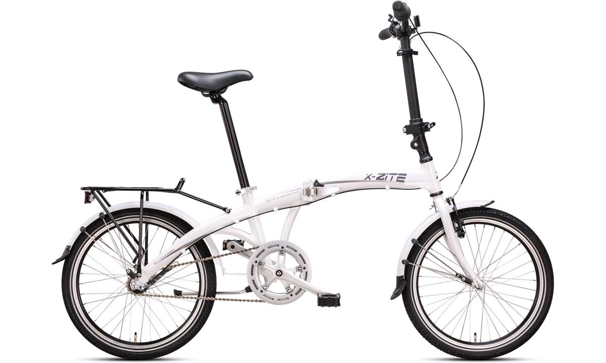 "Foldecykel X-Zite 20"" hvid 3-gear Shimano"
