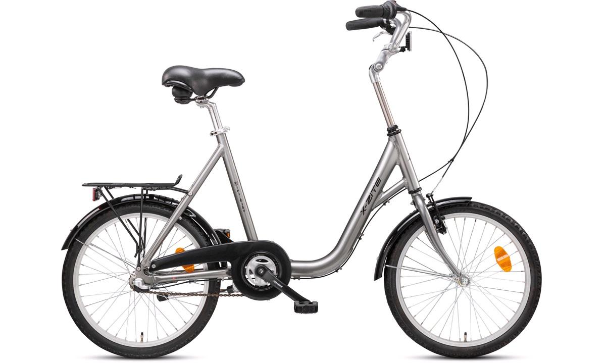 """Minicykel X-zite 20"""" 3 gear grå herre"""