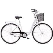 """Shopper 28"""" 7-gear 47cm hvid/grøn"""