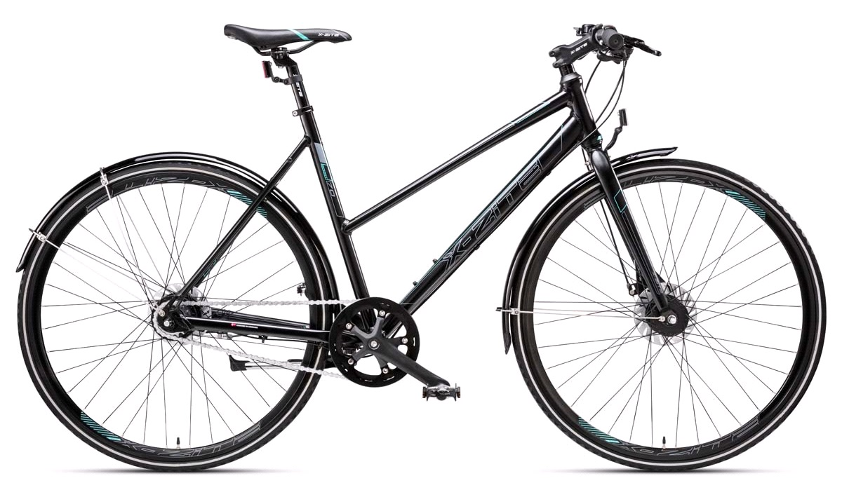 "Citybike dame 28"" alu 7-speed med rulle bremse 51cm"