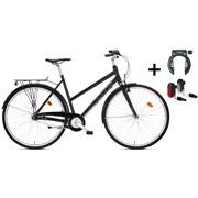 """Citybike dame 28"""" alu 7g PAKKETILBUD"""