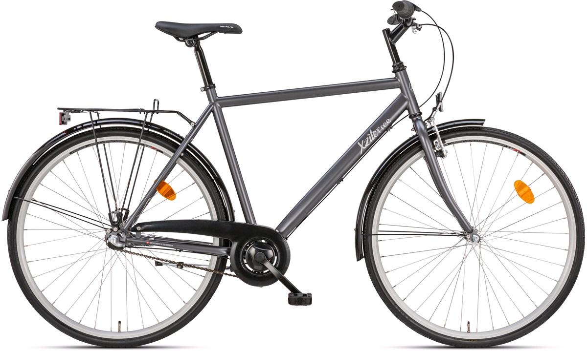"Herrecykel 28"" model Free 3g matgrå 55cm"