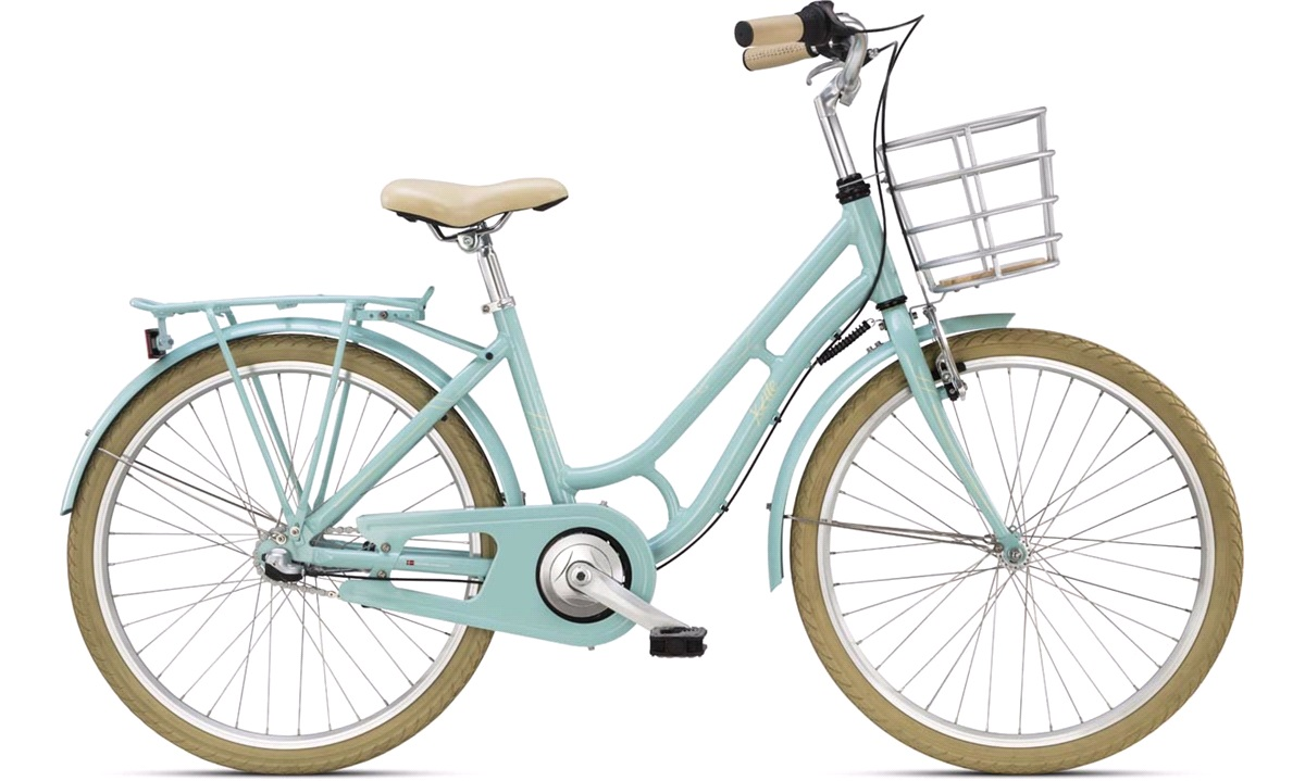 "Pige 24"" shopper Doris 3 gear mintgrøn"