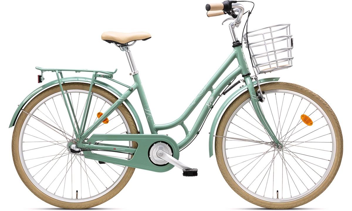 """Pige shopper 26"""" Ingeborg 3-gear grøn"""