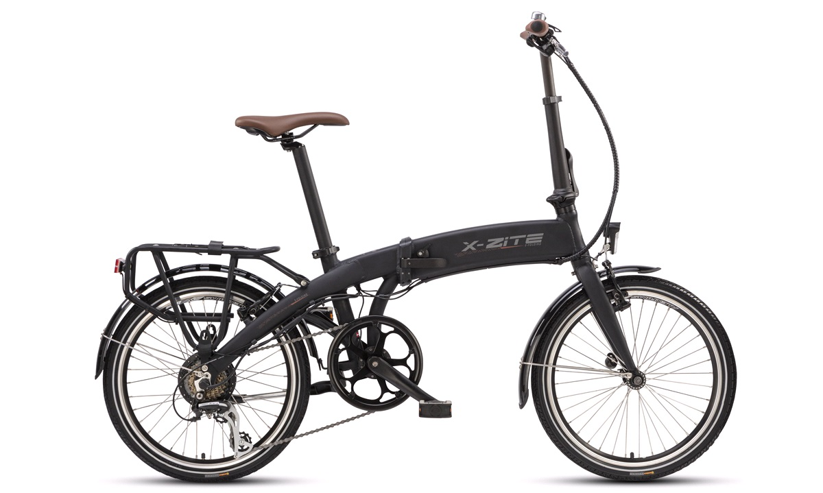 El-foldecykel 36V-8,7 7-gear