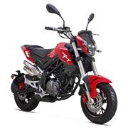 Benelli TNT 125cc CBS Euro-4 Rød