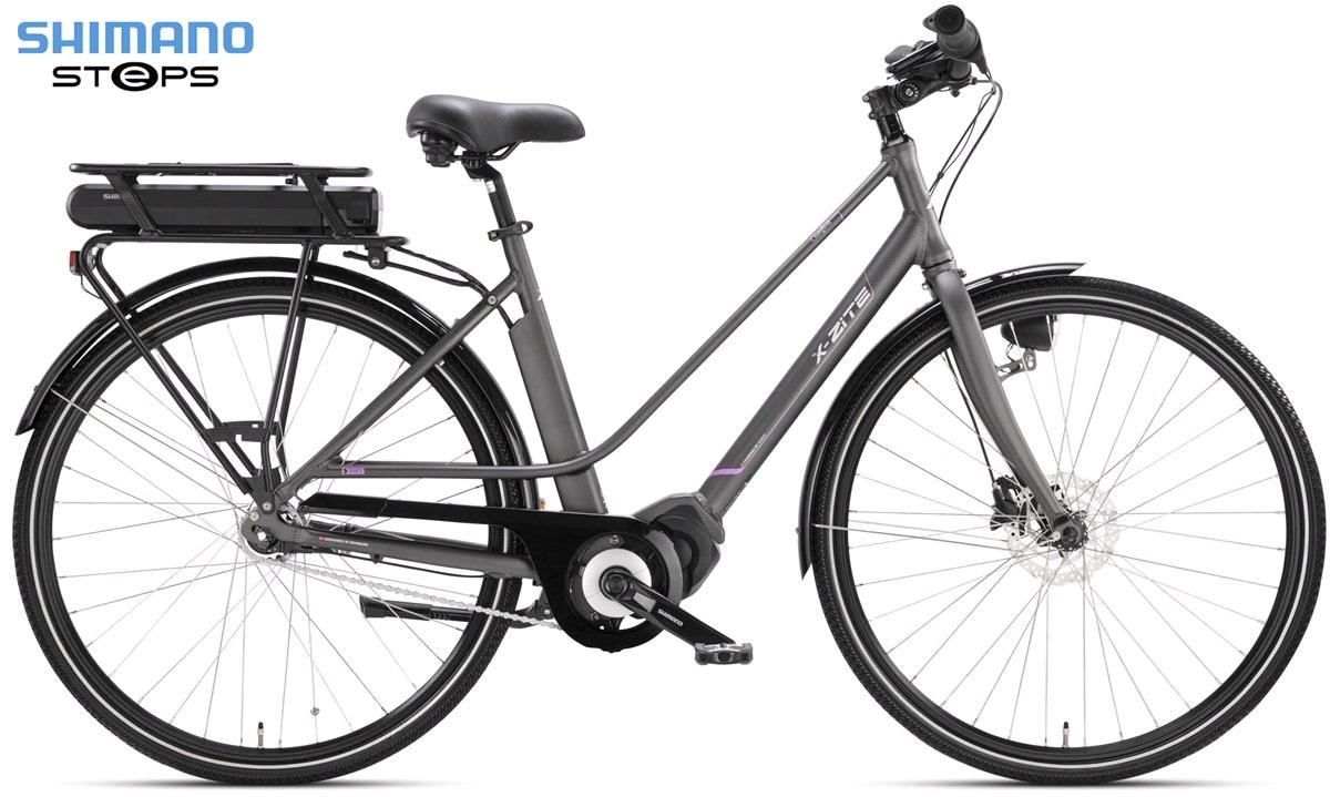 El-cykel dame E-City Shimano Steps E-5000 7-gear