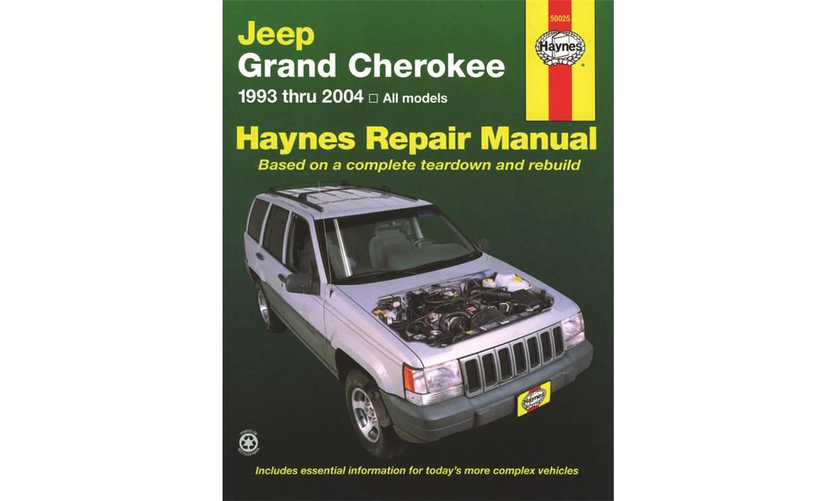 Reparasjonshåndbok Grand Cherokee 9/92-9/98