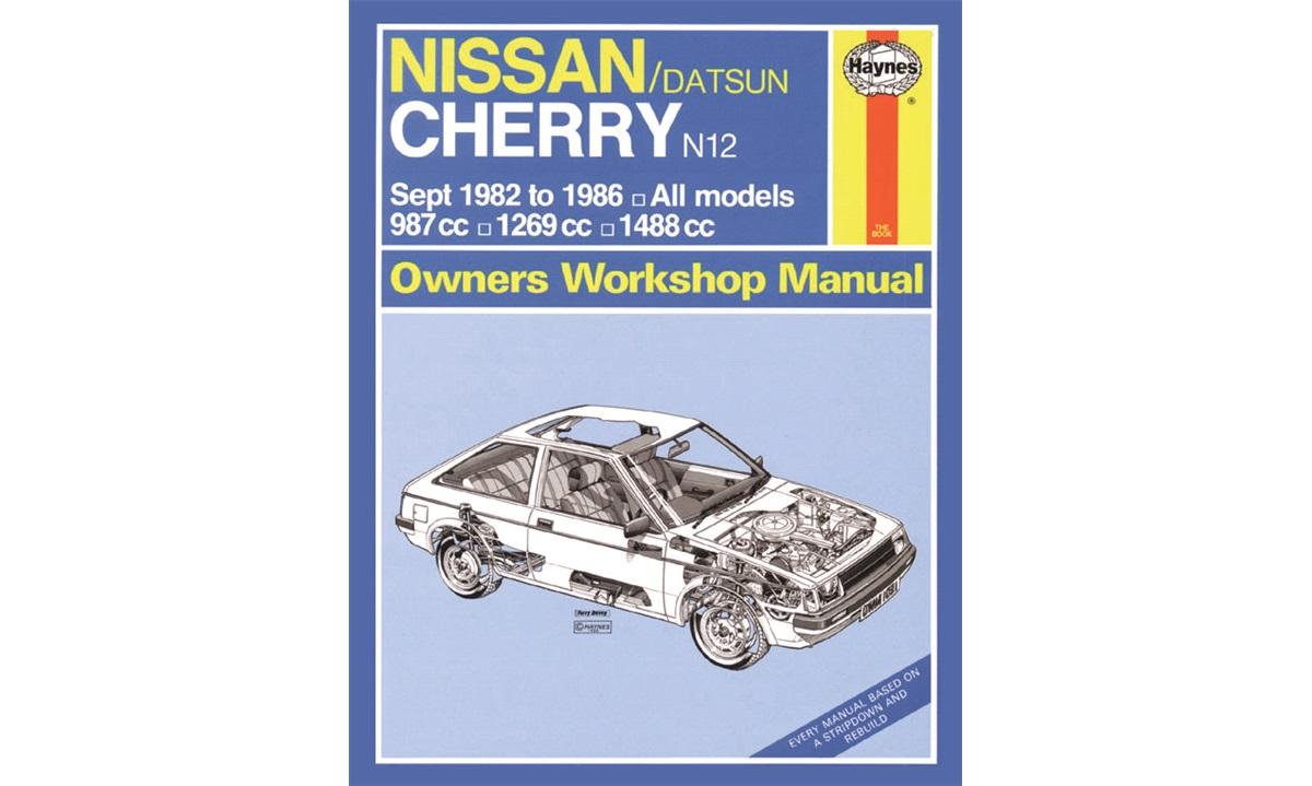 Reparasjonshåndbok Cherry N12 5/82-10/86