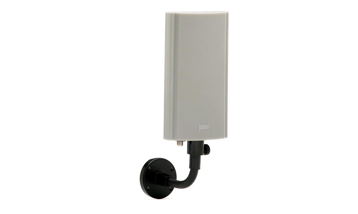DVB-T antenne med forsterker, utendørs