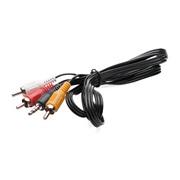 Audio/Video kabel 3,5 Jack til 3xphono