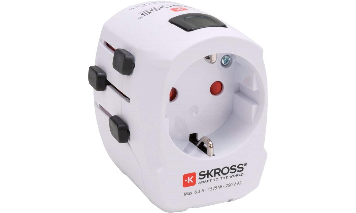 Rejseadapter SKROSS World Pro Light USB