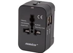 Universal USB Bil Lader Strømforsyning med 3xUSB Porter 12