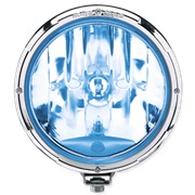Hella Rallye 3003 Chrome ring Blue