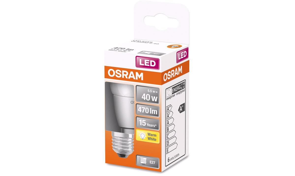 OSRAM LED krone 40W/827 E27