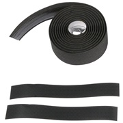Styrebånd kork med gel 180 x 3 cm sort