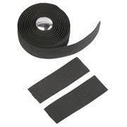 Styrebånd kork 180 x 3 cm sort