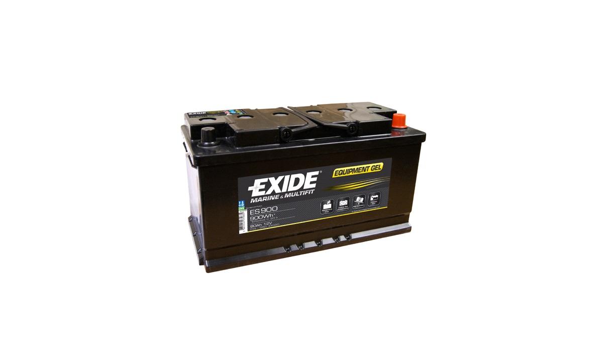 Batteri Exide 12V-80Ah ES900 EQUIPMENT GEL
