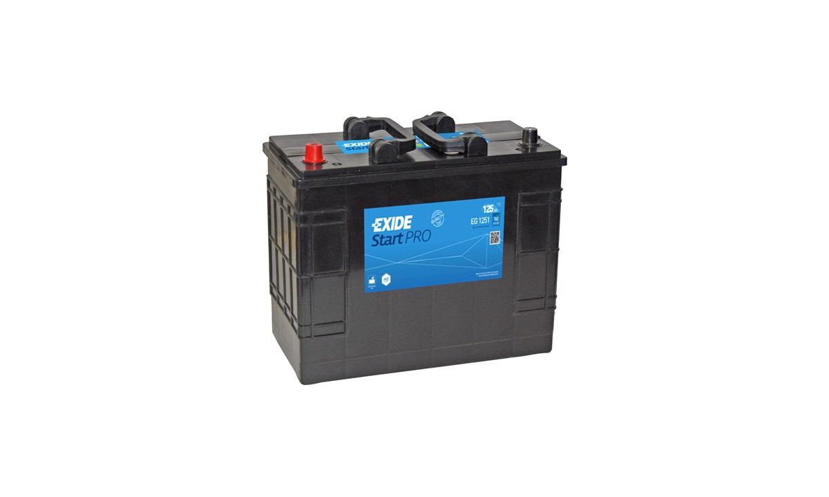 Startbatteri - EG1251 - StartPRO - (Exide)