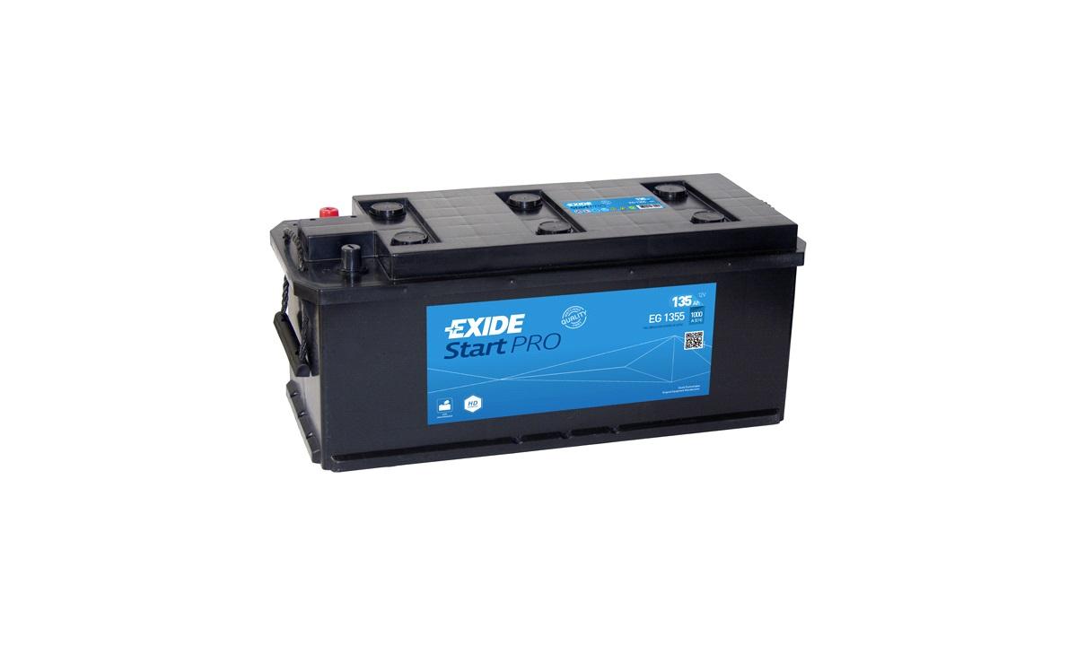 Startbatteri - EG1355 - StartPRO - (Exide)