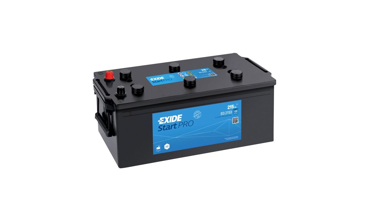Batteri - EG2153 - Professional - (Exide