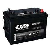 Batteri - EU165-6 - EXIDE VINTAGE - (Exi