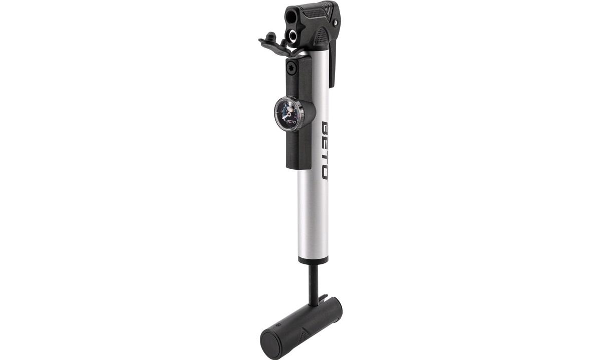 Beto minipumpe m/manometer alle ventiler