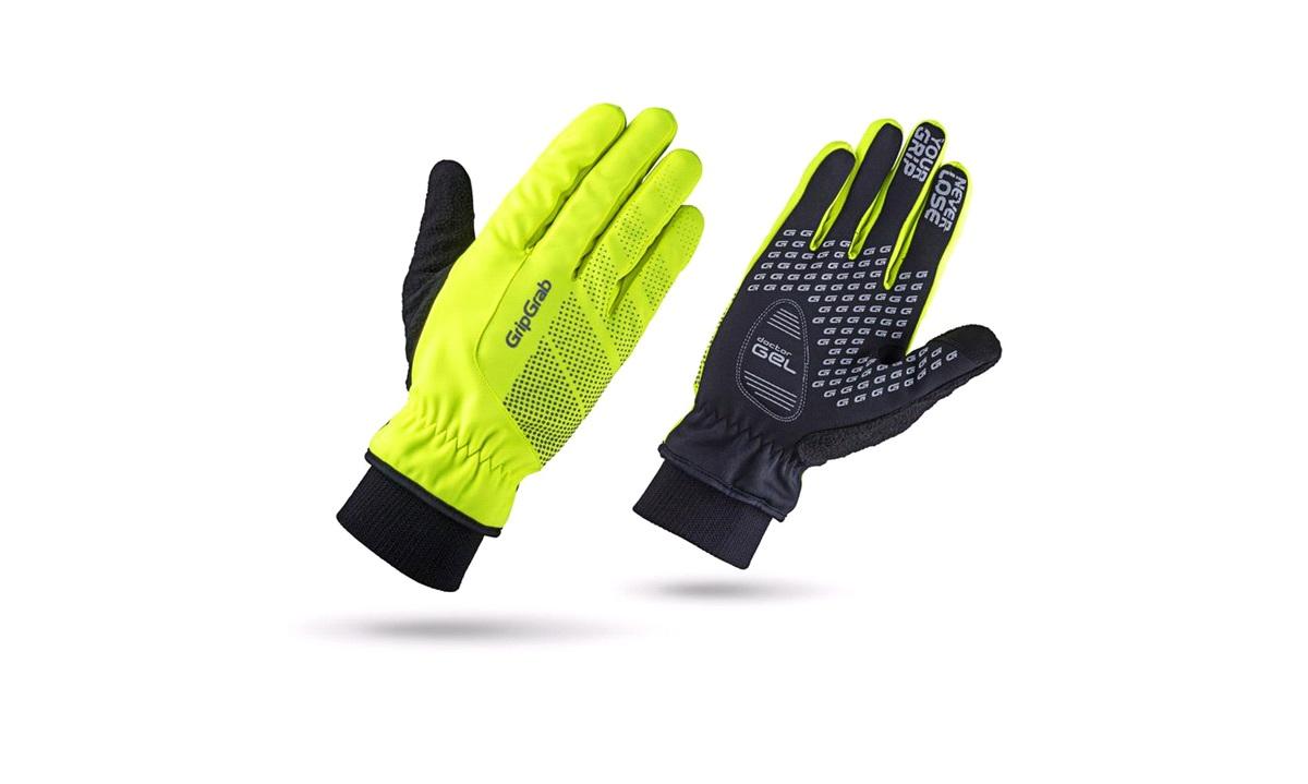 GripGrab handske windproof winter glove Hi-Vis str. L